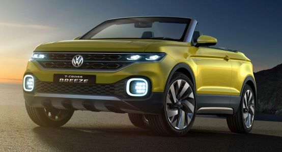 VW T-Cross Small SUV Coming This Year, Could Debut At The Paris Auto Show