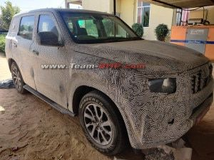 Next-gen Mahindra Scorpio Automatic Spotted On Test