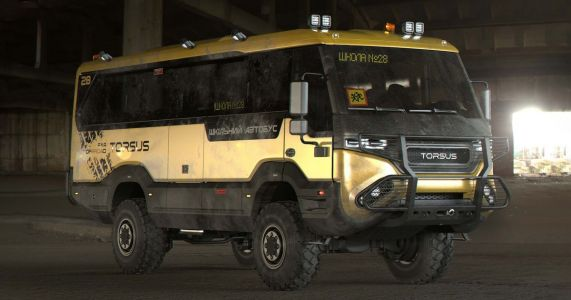 This All-Terrain School Bus Laughs In The Face Of Snow Days