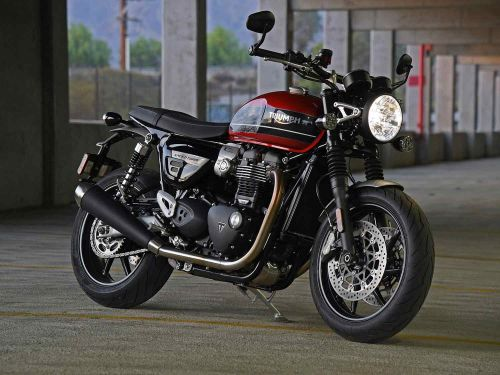2020 Triumph Speed Twin Review Photo Gallery