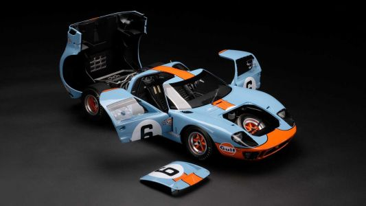 Incredible Amalgam 1:8 Scale Ford GT40 Model Will Set You Back R200,000