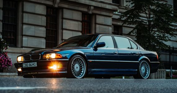 The Alpina B12 LWB Is An Achingly Cool, Very Rare E38 With A 5.7 V12