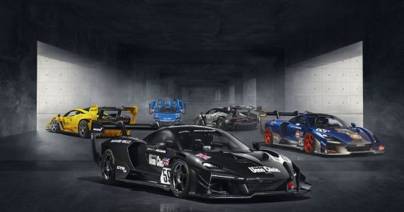 McLaren's Five Liveried Senna GTRs Celebrate 1995 Le Mans Glory
