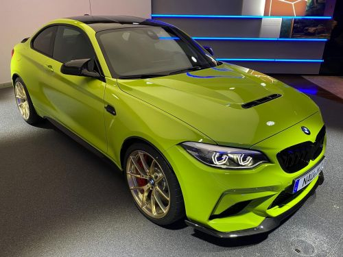 Take A Look At The Only Birch Green BMW M2 CS In The World