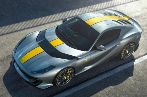 Ferrari 812 Special Version Revealed Packing 819