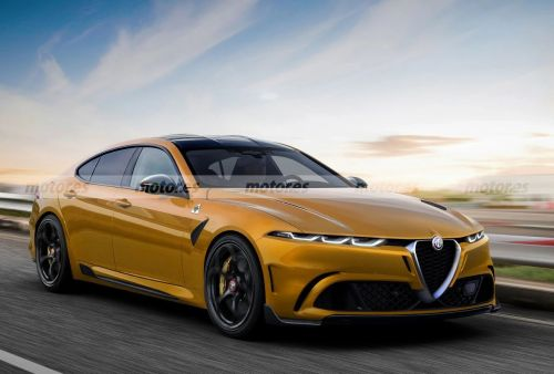 Is Alfa Romeo Cooking Up A BMW 5 Series Rival?