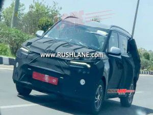 Mahindra Marazzo-rivalling Kia MPV Spotted In India For The First Time Likely Launch By Early-2022