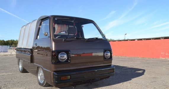 This Modified Honda Acty Is An Unusual Slice Of Kei Car Brilliance