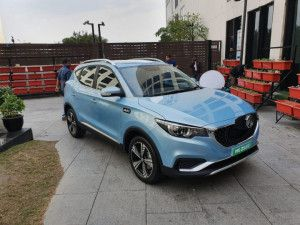 MG ZS Electric SUV Could Come With A 73kWh Battery In Two Years