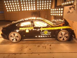Porsche Taycan 4S EV Scores 5 Stars In Euro-NCAP Crash Tests