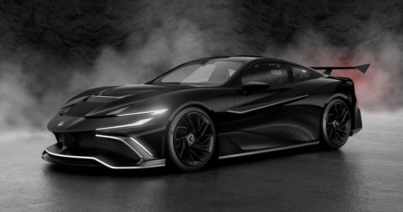 Naran Automotive Naran Debuts As 1000bhp, M8-Based Front-Engined Hypercar