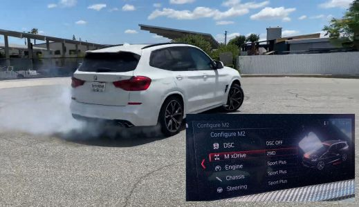 BMW X3 M Software Mod Adds RWD Mode For Donuts