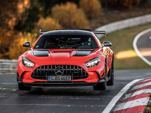 Mercedes-AMG GT Black Series Grabs Production Car Nürburgring Lap Record