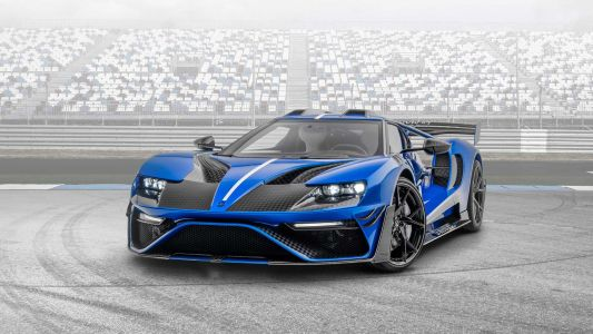 Mansory Go All Out On The Ford GT