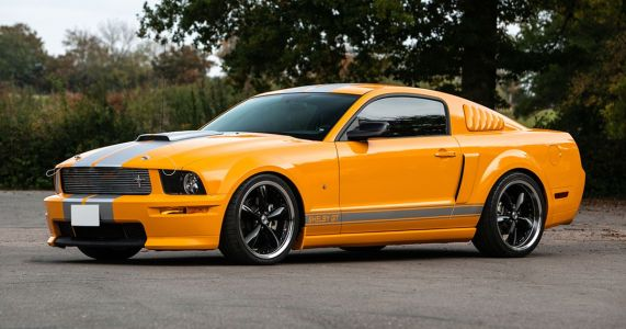 Here's Your Chance To Own A Very Rare, Very Orange Shelby Mustang GT-C