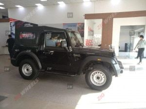 Mahindra Thar 2020 AX and AX Std Variant Bookings Temporarily Halted