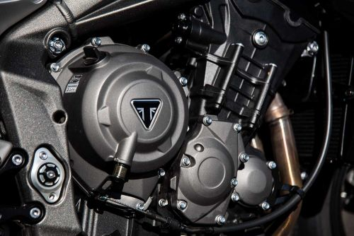 The 2020 Triumph Street Triple RS Packs Ultimate Potential Photo Gallery