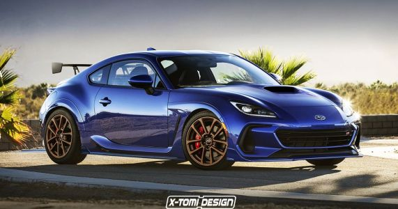 Here's How The Subaru BRZ Looks As An STI And A Convertible