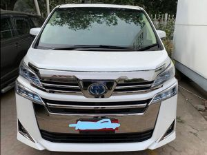 Toyota Vellfire MPV Spied Undisguised In India Launch Likely Soon