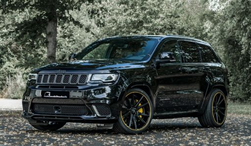 Tuned Jeep Trackhawk Hits 100 km/h in 3.4 Seconds