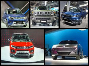 Maruti Suzuki At Auto Expo 2020 Futuro-E Concept EV Jimny SUV Swift Hybrid Hatchback Vitara Brezza Petrol S-Cross Petrol And Ignis Facelift Unveiled