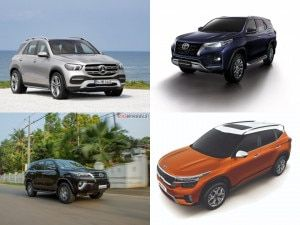 Top 5 Car News Of The Week 2020 Kia Seltos Launch Mercedes-Benz GLE New Variants Toyota Fortuner Price Hike Jeep Compass Facelift Global Unveil And More
