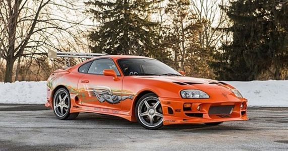 How Paul Walker's Fast & Furious Supra Was Nearly A 3000GT, And Other F&F Car Rejects