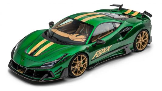 Mansory Go To Town On The Ferrari F8 Tributo