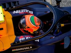 Jehan Daruvala Qualifies 3rd For Round 12 Bahrain F2 Feature Race