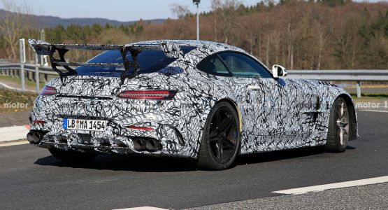 Mercedes-AMG GT Black Series To Debut Late July