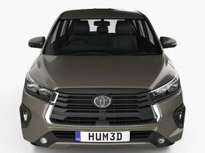 Leaked 3D Images Of The Facelifted Toyota Innova Crysta Reveals Minor Design Updates
