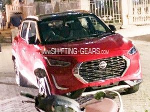 Nissan Magnite Top-end Variant Spied Completely Undisguised Ahead Of October 21 Reveal