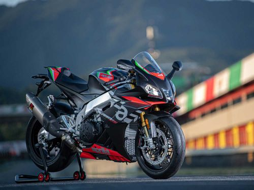 2020 Aprilia RSV4 1100 Factory MC Commute Review Photo Gallery