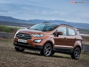 Ford EcoSport Sub-4 Metre SUV Receives Minor Price Hike Prices Now Start At Rs 819 Lakh