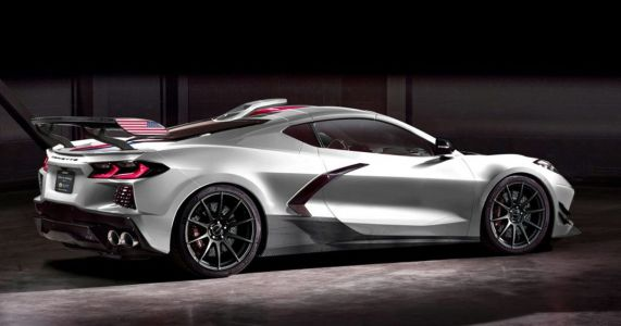 Of Course There's A 1200bhp C8 Chevrolet Corvette Coming From Hennessey