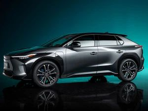 Toyota bZ4X Electric Crossover Unveiled At Auto Shanghai 2021