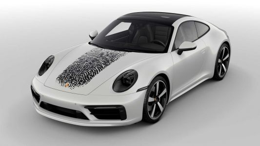 Porsche Will Add Your Fingerprint To Your 911 For R120k