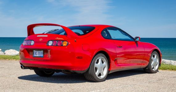 How Much Will This 7000-Mile Toyota Supra Manual Sell For?