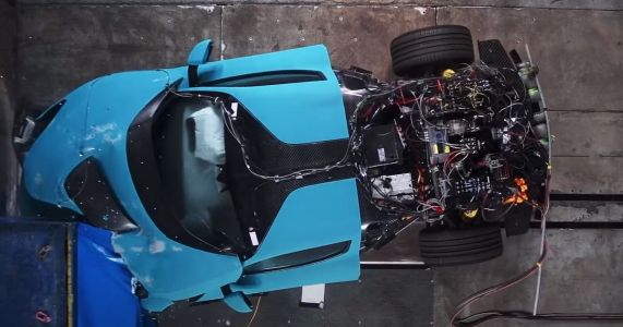 We Can't Stop Watching These Rimac C Two Crash Tests
