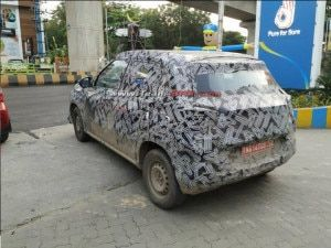 Citroen Sub-4 Metre SUV Cabin Spied Again With Floating Infotainment System