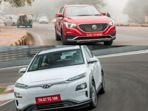 MG ZS EV Vs Hyundai Kona Electric Spec Comparison