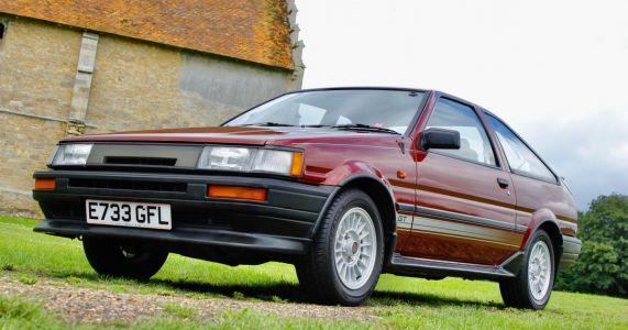 One-Owner Toyota AE86 Auctioned For Record £46,250