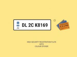 Understanding High-Security Registration Plates HSRP And Colour-Coded Stickers