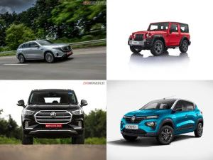 Top Car News India Mahindra Thar 2020 Prices Kia Sonet Dual-tone Variants Renault Kwid Neotech Edition MG Gloster Mercedes-Benz EQC