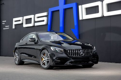 Posaidon Turn Mercedes-AMG S63 Coupe Into Ultimate Sleeper Packing 927 HP