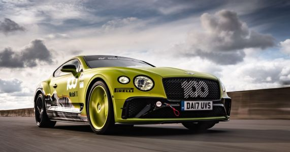 I Drove A Stripped Out, Noisy-As-Hell Bentley Continental GT