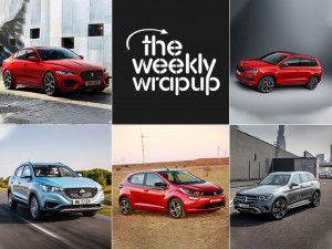 Top 5 Car News Of The Week Tata Altroz And MG ZS EV Unveil Jaguar XE Mercedes GLC Launch and Skodas Future Plans