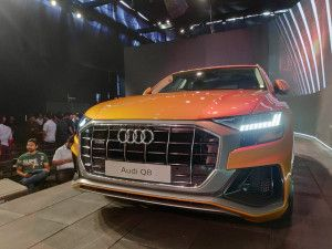Audi Q8 Flagship SUV For India Image Gallery