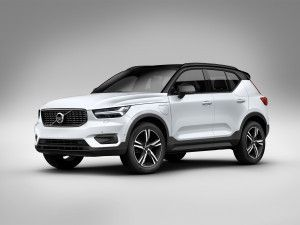 Volvo XC40 T4 R-Design BS6 Petrol Compact Luxury SUV Launched In India At Rs 399 Lakh