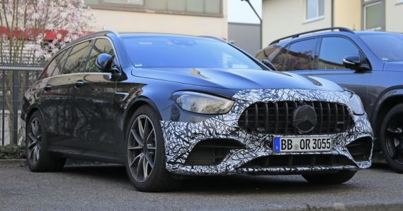 The New-Ish Mercedes-AMG E63 Wagon Has Been Spied